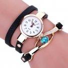 Duoya Ladies' Fashion Watches Eye Gemstone Luxury Watches Women Gold Bracel
