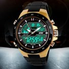 50M Waterproof Mens Sports Watches Relogio Masculino 2016 Hot Men Silicone