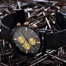 Men's Watches BAOGELA Fashion Sports quartz watch stainless steel mesh Bran