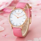 CHRONOS 1898 Luxury Watch Men Women Rose Gold Silver Casual Quartz Watch PU