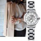 SINOBI Women Watch Elegant Brand Famous Luxury Silver Quartz Watches Ladies