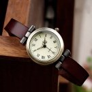 shsby New fashion hot selling leather female watch ROMA vintage watch women