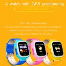 Free Shipping Q90 GPS Phone Positioning Fashion Children Watch 1.22Inch