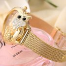 2016 Fashion Owl Pendant Quartz Watch Women Wrist Watches Ladies Wristwatch