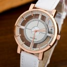 BGG brand Hollow women's Luxury Creative watch womens casual Watches leathe