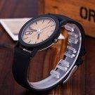 2016 Simulation Wooden Relojes Quartz Women Watch Casual Wooden Color Leath