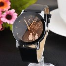 Classic Couples Lovely Women Watches Fashion Casual Wristwatch PU Leather R