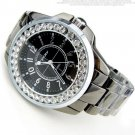 Bling Rhinestone SINOBI Luxury steel Quartz Watch Women Clock female Ladies