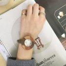 REBIRTH 2017 Bamboo Wooden Watch Women Wristwatches Luxury Leather Genuine