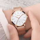 OLEVS Women's Watches Luxury Waterproof Ultra Thin Date Clock Female Steel