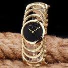 2017 New Luxury Brand Women Quartz Watches montre femme Gold Design Bracele
