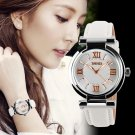 SKMEI Brand Women Dress Watches 3ATM Waterproof Leather Strap Fashion Quart