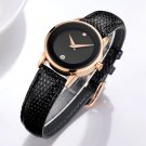 women watches DOM luxury brand waterproof style quartz leather gold nurse w