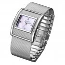 WEIQIN Silver Women Watches Luxury High Quality Water Resistant Montre Stai