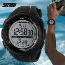 2017 New Skmei Brand Men LED Digital Military Watch, 50M Dive Swim Dress Sp