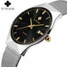 New Men Watches Top Brand Luxury 50m Waterproof Ultra Thin Date Clock Male