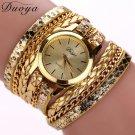 Duoya 2017 watch women luxury brand dress clock men luxury bracelet casual