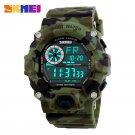 SKMEI Military Sports Watches Men Alarm 50M Waterproof Watch LED Back Light