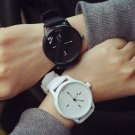 Classic Black and White Silicone Quartz Watch Brand Women Watches Lovers Je