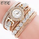CCQ 2017 women watches Casual Analog Quartz Watch Rhinestone Women Watches
