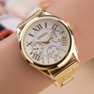 New Famous brand Fashion Casual Women Watches Roman Numerals Quartz watch w