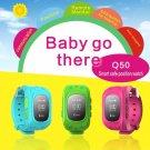 GPS Tracker Watch For Kids SOS Emergency Anti Lost Bracelet Wristband Q50 W