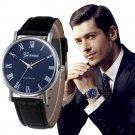 Gofuly 2017 Watch Men Watches Luxury Analog Quartz Leather Wrist Watch Casu