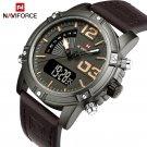 NAVIFORCE Fashion Luxury Brand Men Waterproof Military Sports Watches Men's