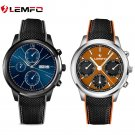 """Top 1 Lemfo LEM5 Smart Watch Android 5.1 OS 1.39"""" IPS OLED screen 1GB+8GB S"""