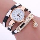 Women's Watches 2017 Fashion Leather Pendant Bracelet Ladies Watch Women Cl