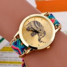 Relojes mujer 2016 bayan saatleri Fashion Bracelet watch Women Braided Elep