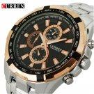 2017 Curren Brand fashion Quartz Watch men full steel Clock Male Wrist watc