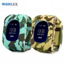 Wonlex Smart Safe OLED Kids GPS Watch SOS Call Wristwatch Child Finder Loca