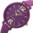 10 Colors Women horloge Bracelet Watch Famous brand Ladies Faux Leather Ana