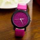 reloj mujer 2017 Fashion Women Watches Star Minimalist Printed Round Dial L