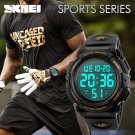Mens Sports Watches Famous Brand Luxury Men's Military Army Watch Digital L