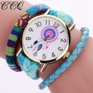 CCQ Brand Handmade Braided Women Dreamcatcher Watch Fashion Rope Ladies Qua