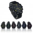 Top Brand Men's Watch Stainless Steel Luxury Analog Hour Quartz Clock Sport