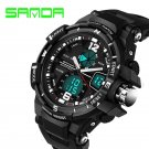 Sport Watch SANDA Men 2017 Clock Male LED Digital Quartz Wrist Watches Men'
