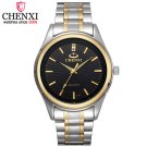CHENXI Brand Fashion Luxury Watch Men Casual Stainless Steel Gold Gift Cloc