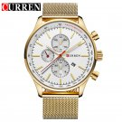 CURREN  Watch Men Fashion Casual Full Sports Watches Relogio Masculino Busi
