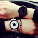 New Creative Pointer Men and Women watch Top Brand Leather watch White and