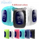 8 colors GPS Tracker Watch OLED Q50 for Kids SOS Emergency Anti Lost GSM Sm