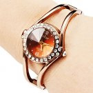 Luxury Rhinestone Watch Women Watches Rose Gold Women's Watches Bracelet La