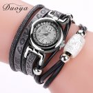 Duoya Brand Hot Sale Luxury Watch Fashion Women Silver Bracelet Watch Vinta