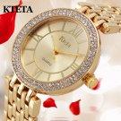 Womens watches Brand Luxury Diamond Gold Watch Ladies Quartz Wristwatch Wom