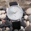 Men Womenes Watch Fashion Simple Design Dress Clock Dial Saat Leather Band