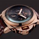 MEGIR Top Luxury Brand Men's Wrist Watch Mens Chronograph Luminous Clocks M