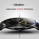 OLEVS Ultrathin Design Lovers Waterproof Watch Women Men Wristwatch Dial Qu