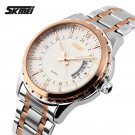 2016 Watches men luxury brand Skmei quartz watch men full steel wristwatche